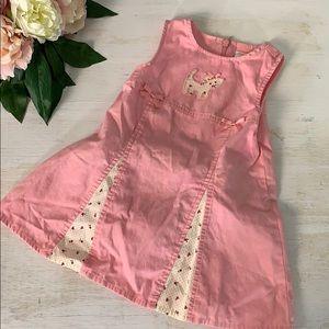 Baby Girl Summer 12 Month Dress & Romper Bundle